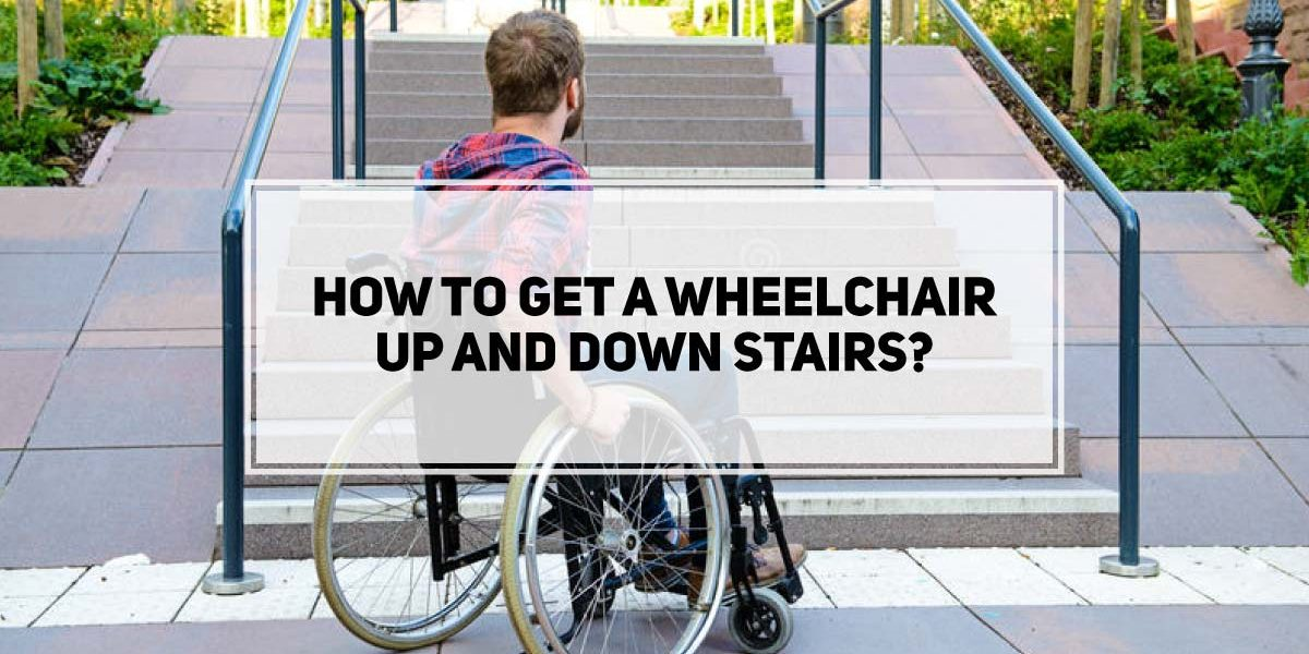 How To Get a Wheelchair Up And Down Stairs